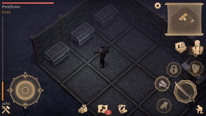 build floors walls and house in grim soul