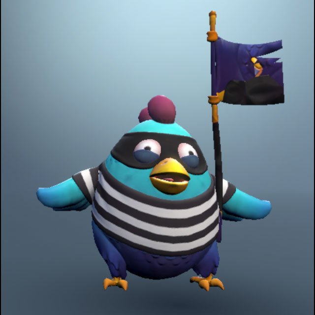 model for jail bird realm royale