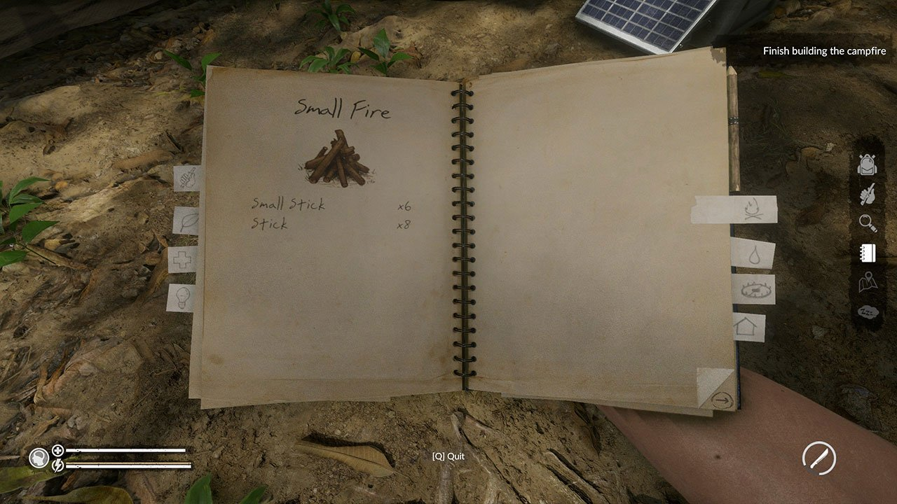 crafting book green hell