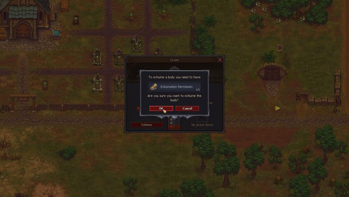 how to throw body in river graveyard keeper