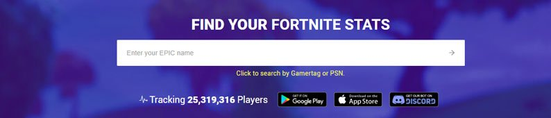 fortnite search for your account stats