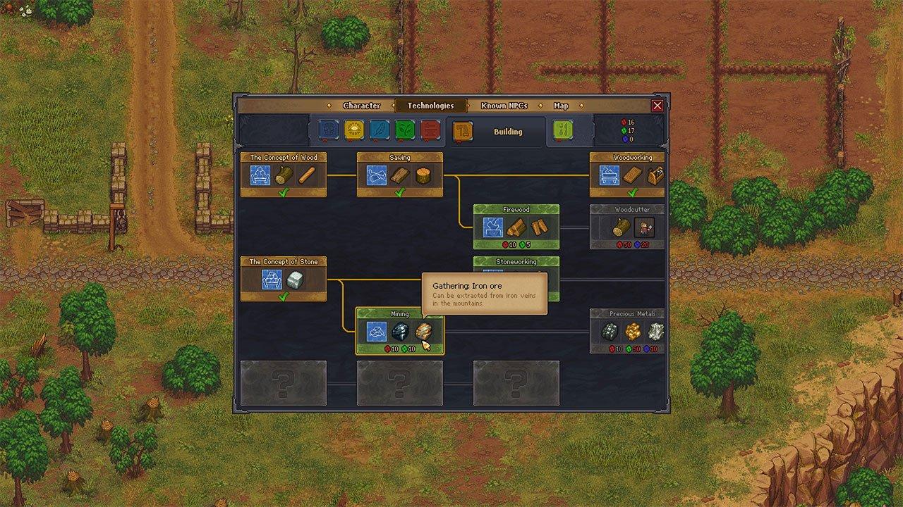 unlock mining skill tree