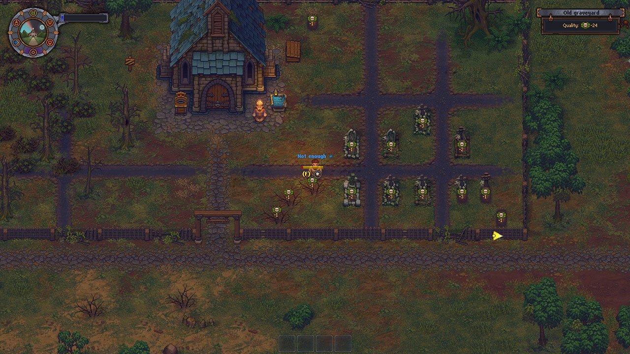 not eneough energy graveyard keeper