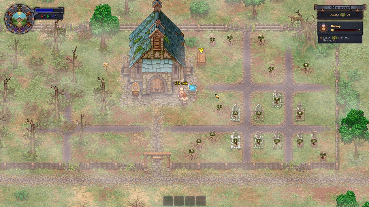 Graveyard Keeper: How to Open the Map - PwrDown