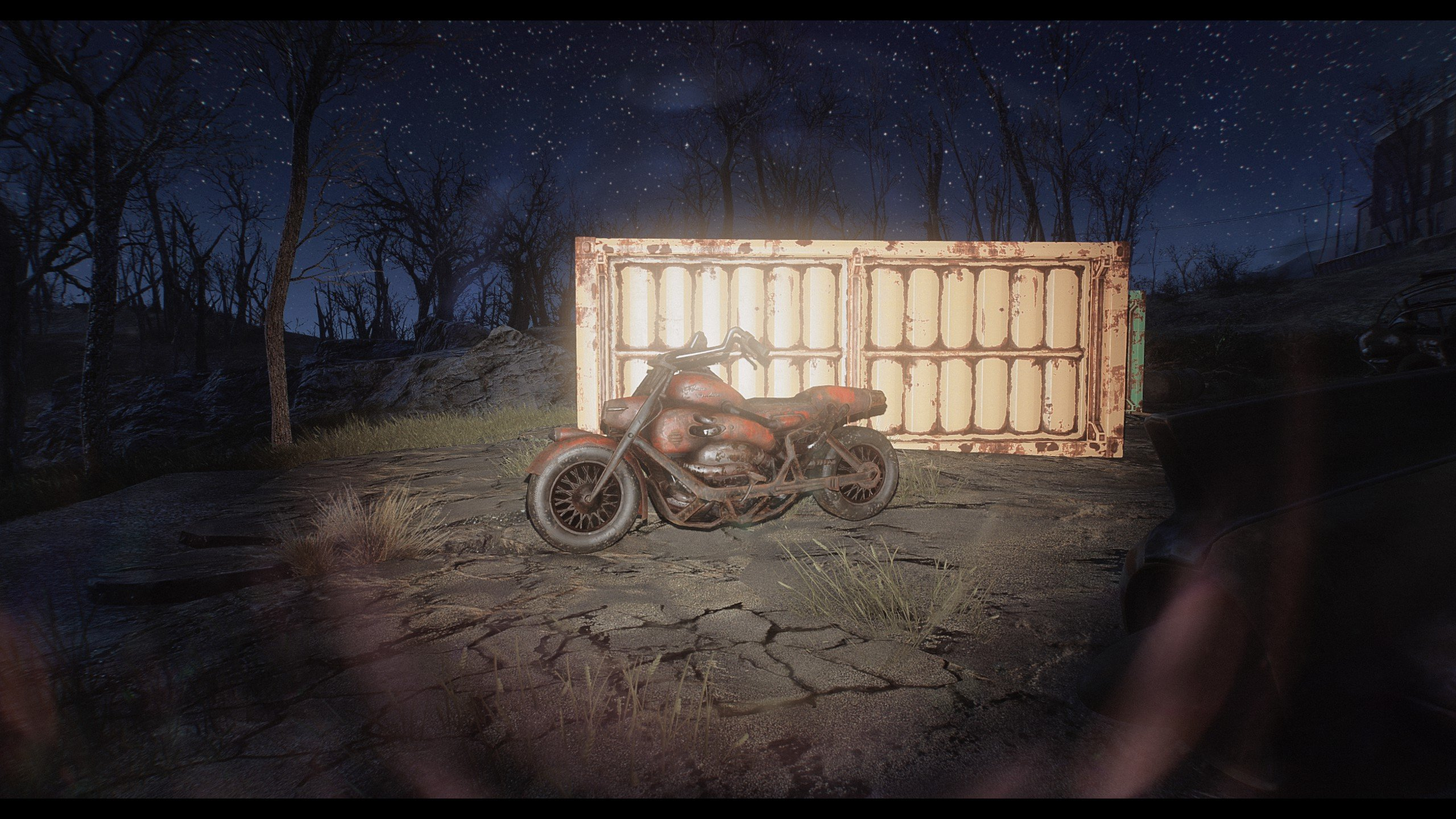 fallout 4 motor bike