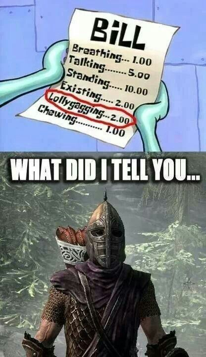 Top 5 Most On-point Skyrim Crossover Memes
