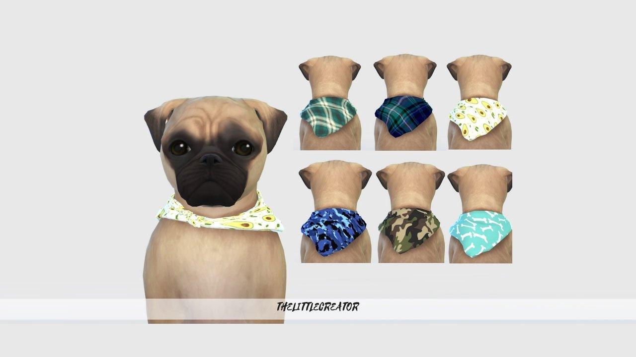 sims 4 pets mod dog collars