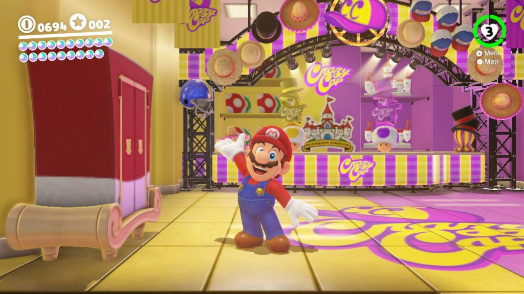 Super Mario Odyssey Shop