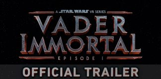 Star Wars Vader Immortal Official Trailer Thumbnail.