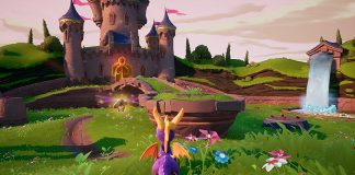 Screenshot of the Artisans Home in Spyro Reignited Trilogy.