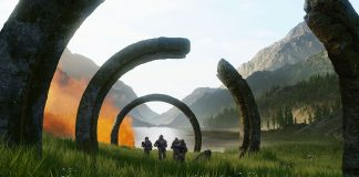 Promotional Image from Halo: Infinite teaser trailer.