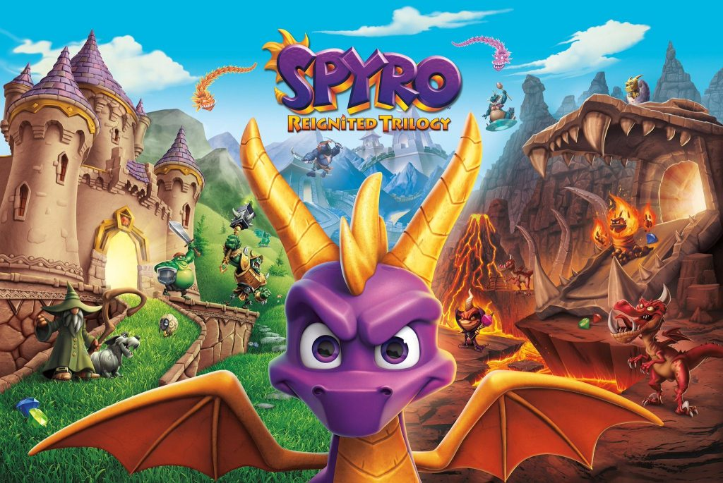 Promotional image for Spyro Reignited Trilogy.