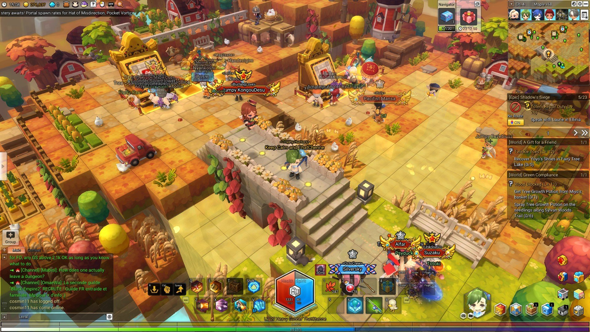 MapleStory 2: How to Get to Maple Hill - PwrDown