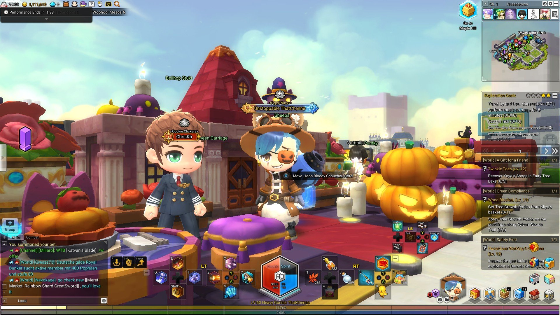 Maplestory 2: How to find the Halloween Shop - PwrDown