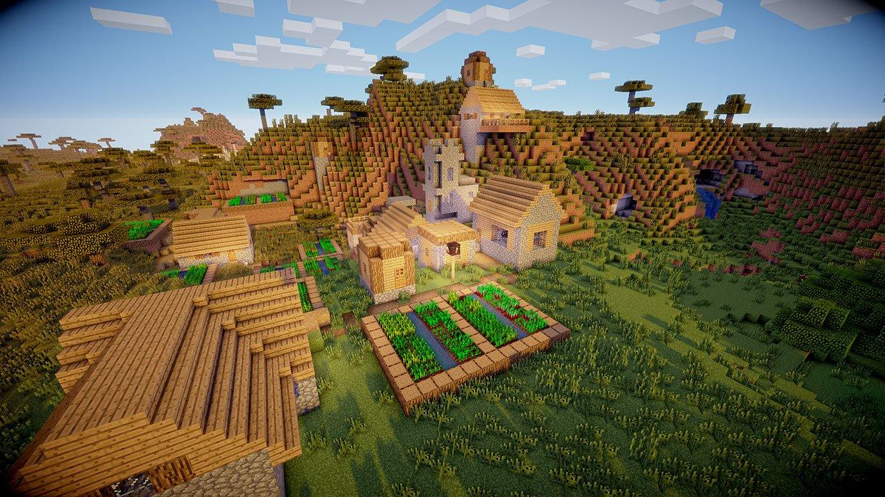 Best Minecraft Seeds for Villages in 2018 - PwrDown