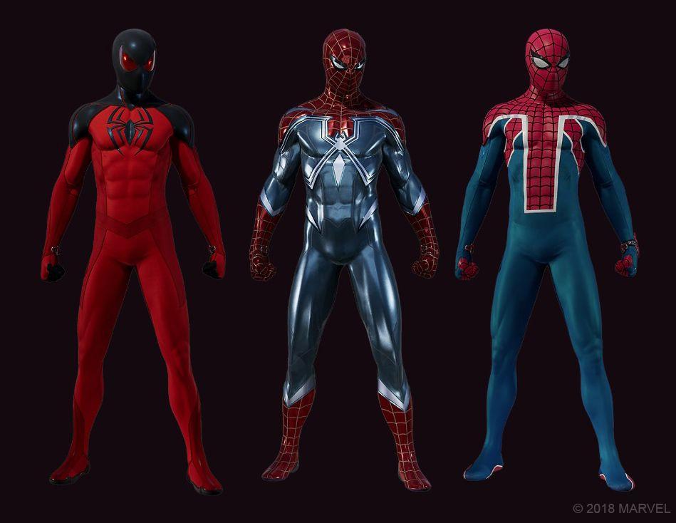 Spider-Man The Heist Suits