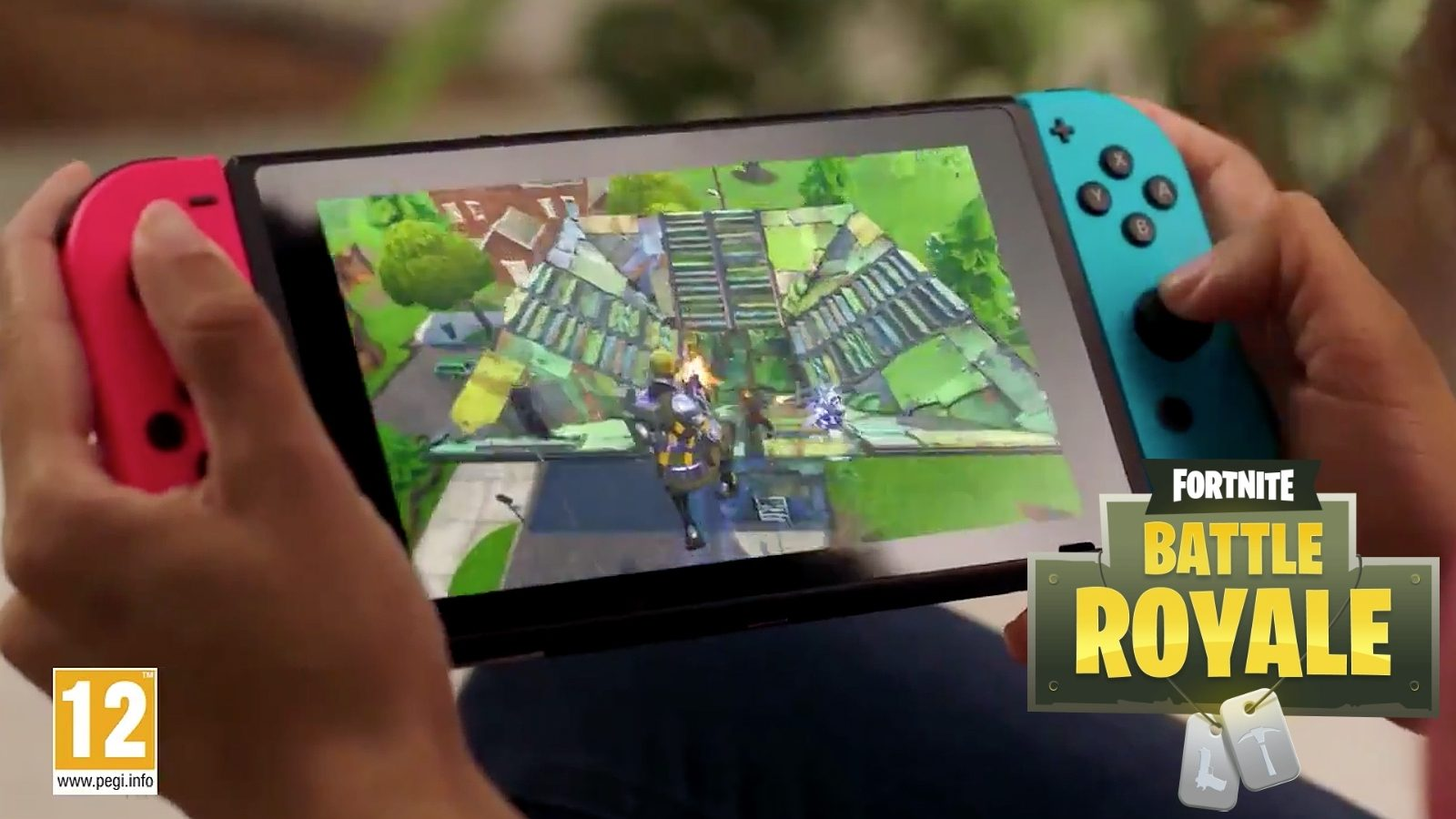 How to build in fortnite nintendo switch