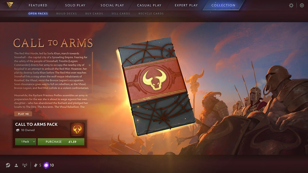 Artifact: How to Open Card Packs - PwrDown