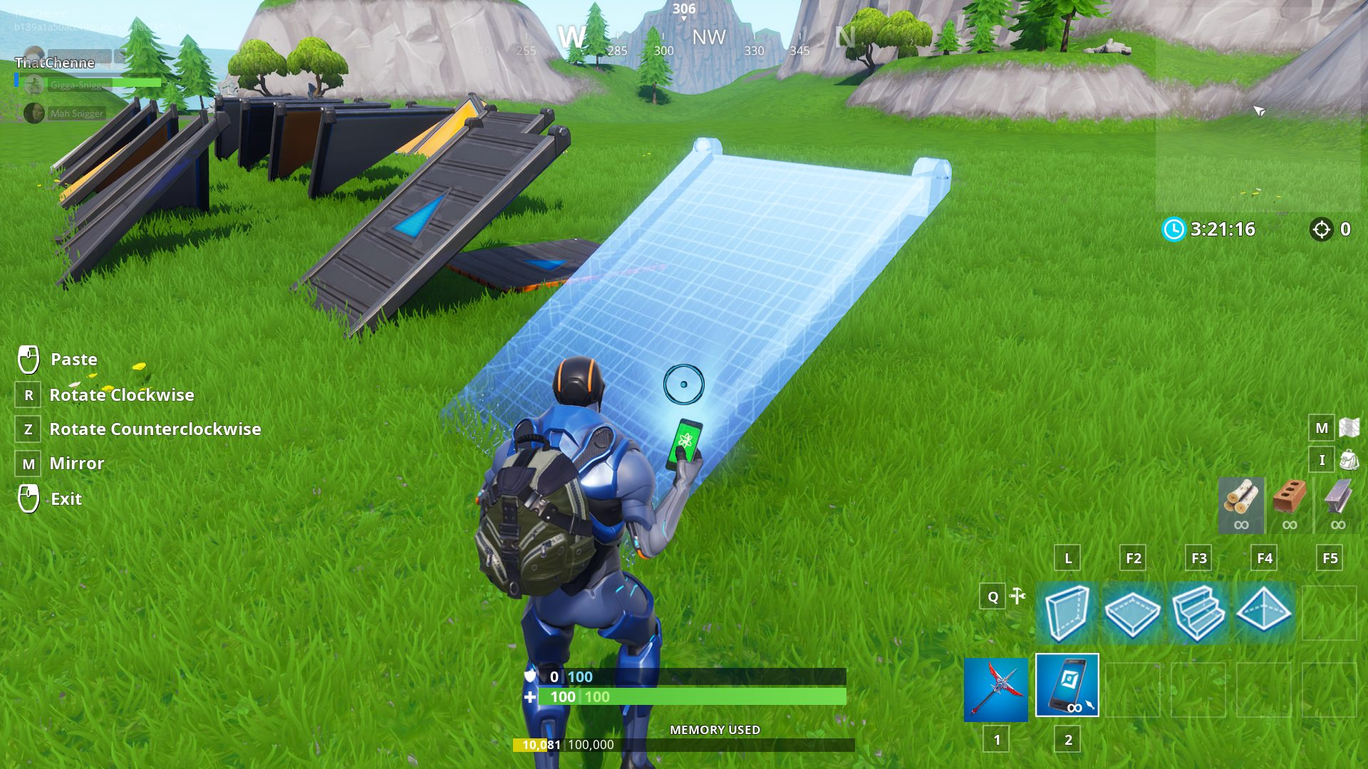 Fortnite Creative: How to copy an item - PwrDown