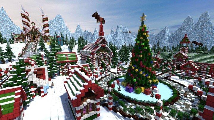 Minecraft Christmas.Top 5 Minecraft Christmas Skins Pwrdown