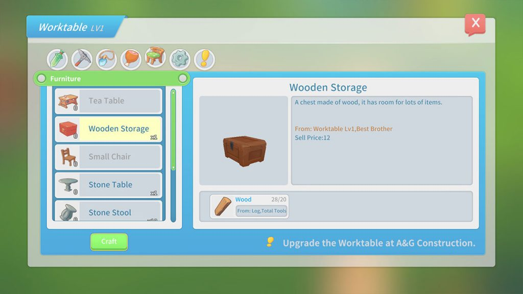 build wooden storage