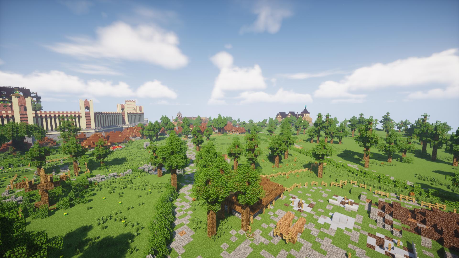 By Photo Congress || Minecraft Shaders 1 14 Seus