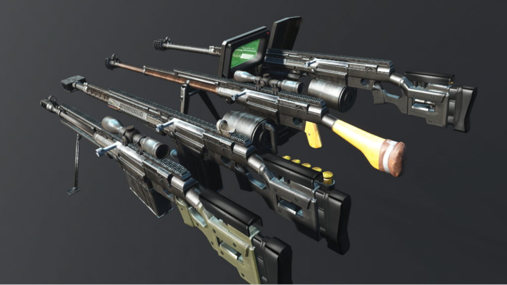 PTRS-41 anti tank rifle