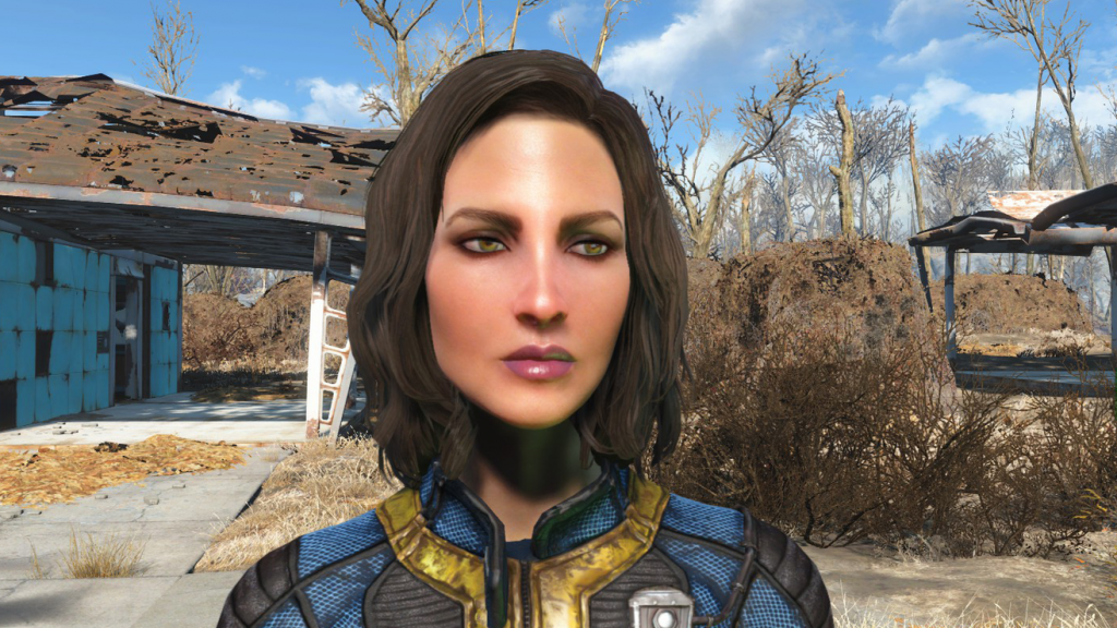 Sexy and Sultry character preset