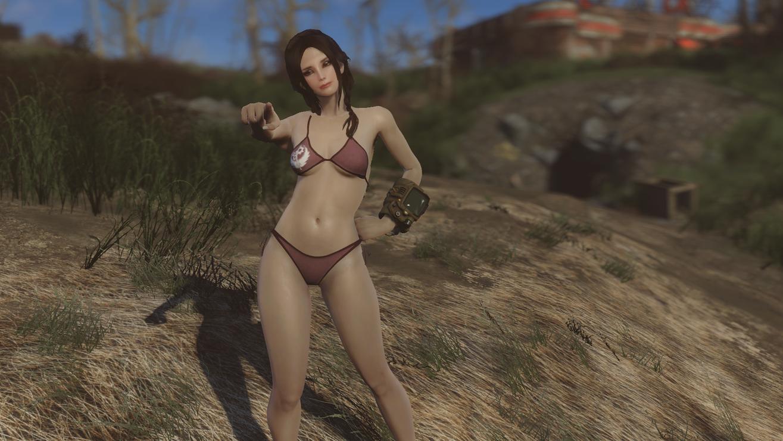 naked fallout 4 mod