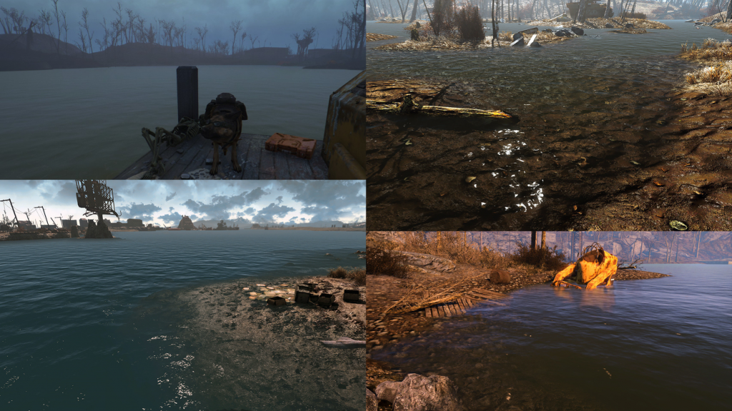 water enhancement textures