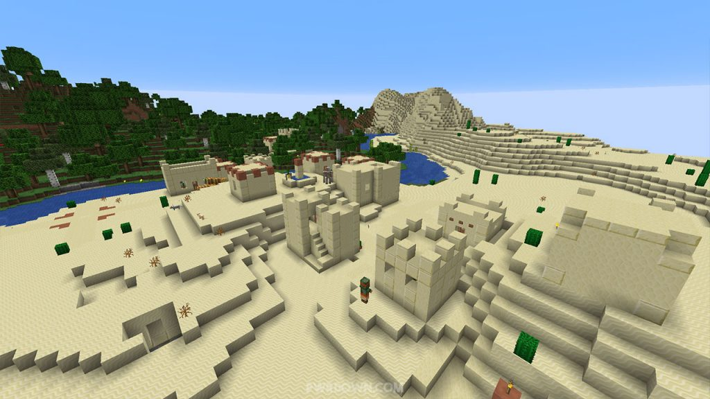 Best Minecraft Seeds for 1 14 Village & Pillage Update - PwrDown