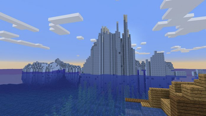 minecraft best seeds for icebergs