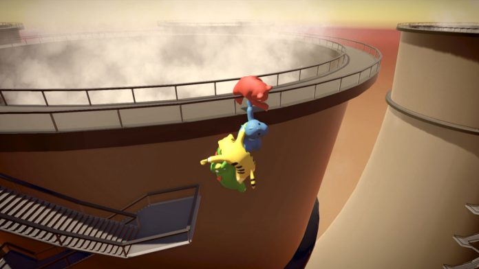 how to throw in gang beasts