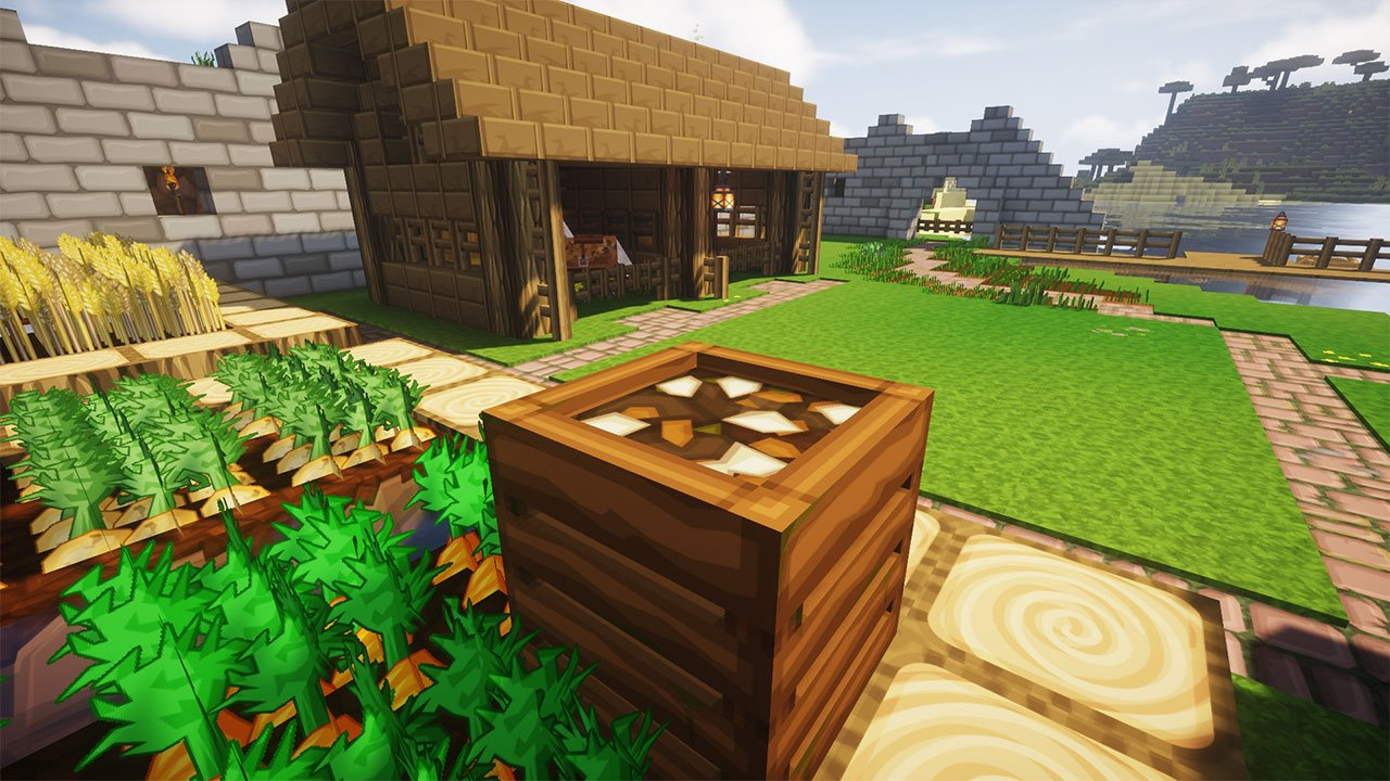 How To Craft Use A Composter In Minecraft Pwrdown