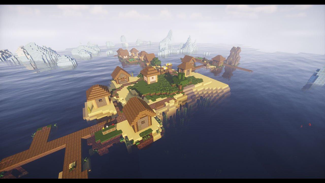 Top 10 Best Minecraft Village Island Seeds Pwrdown