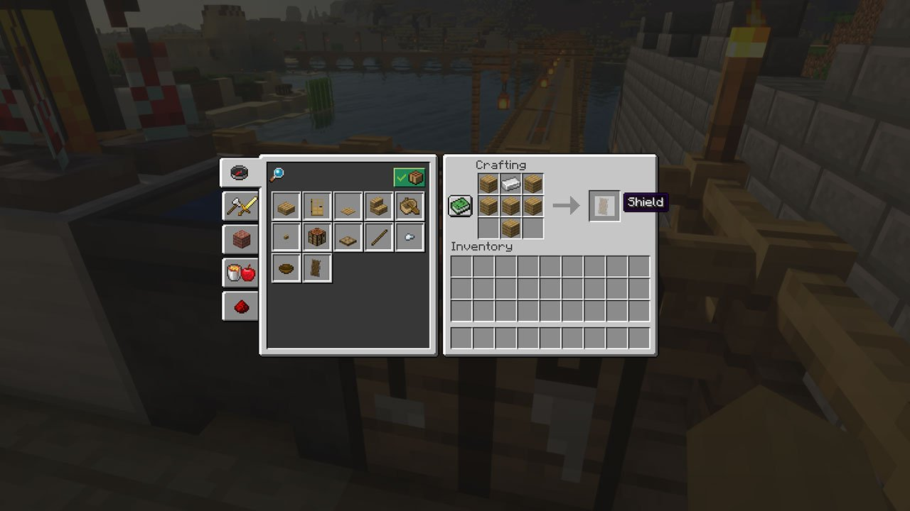Minecraft Shield Guide - How to Craft, Enchant, Repair & Use - PwrDown