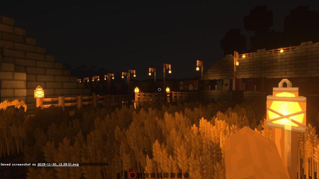 taking a screenshot minecraft