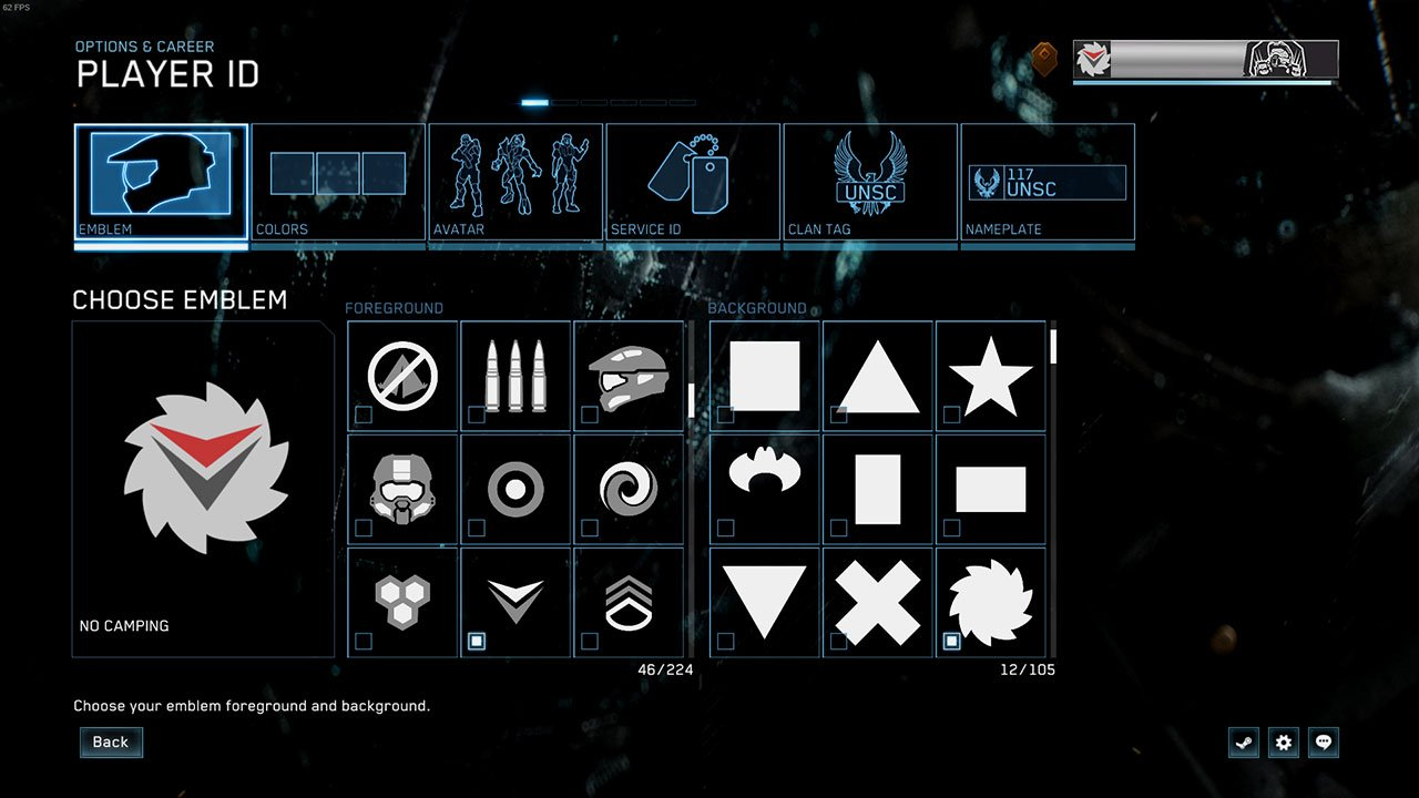 How To Change Your Emblem In Halo Master Chief Collection
