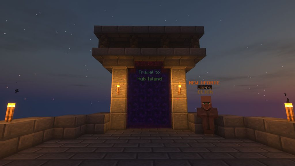 portal that goes to hub
