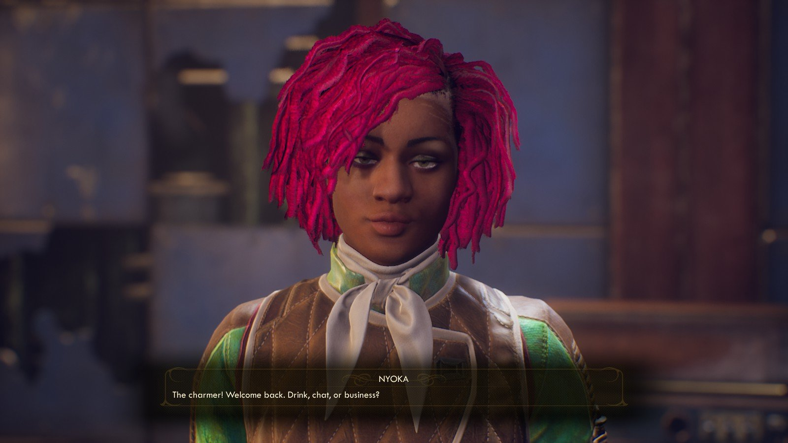Nyoka The Outer Worlds Dialogue