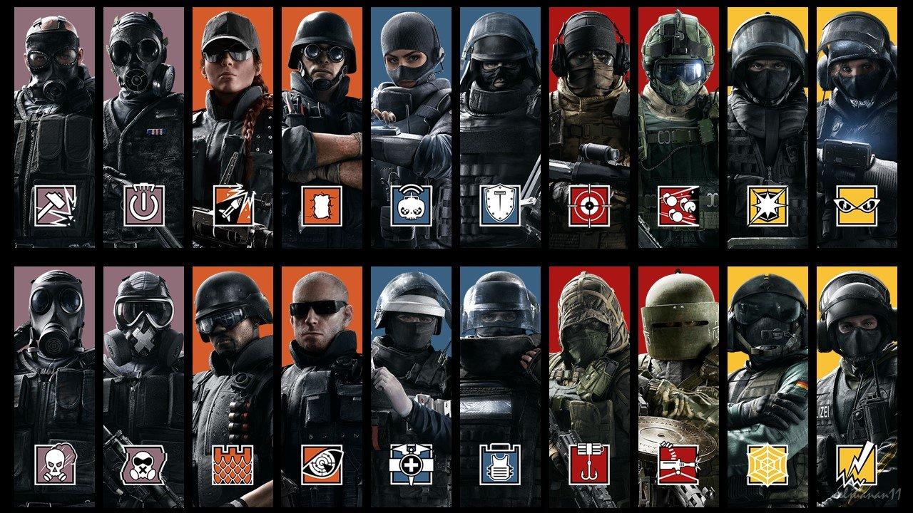 List of Operators in Rainbow Six Siege