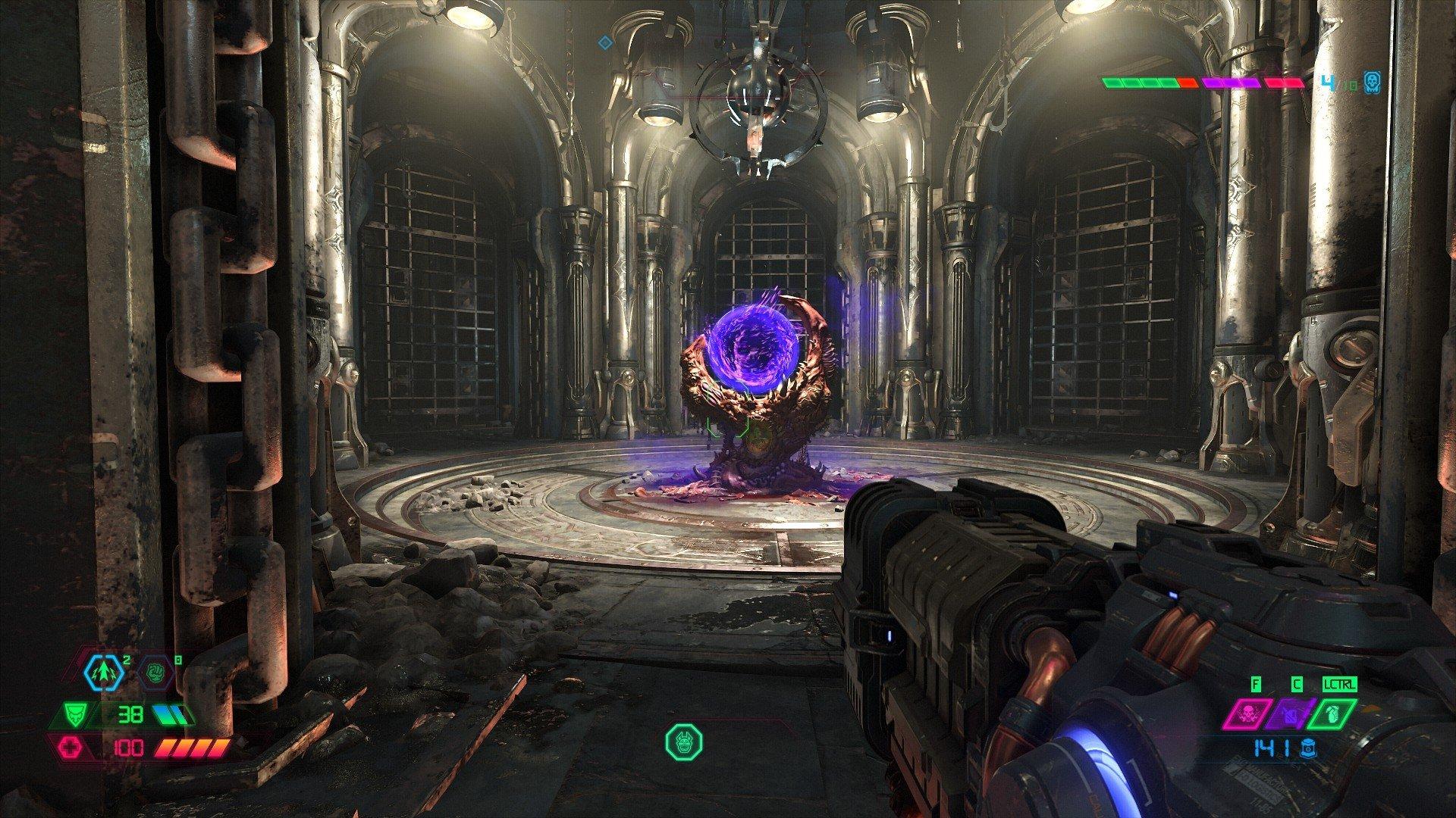 Doom Eternal Slayer gate