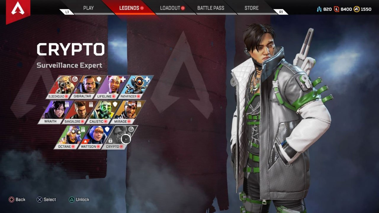 Apex Legends Crypto
