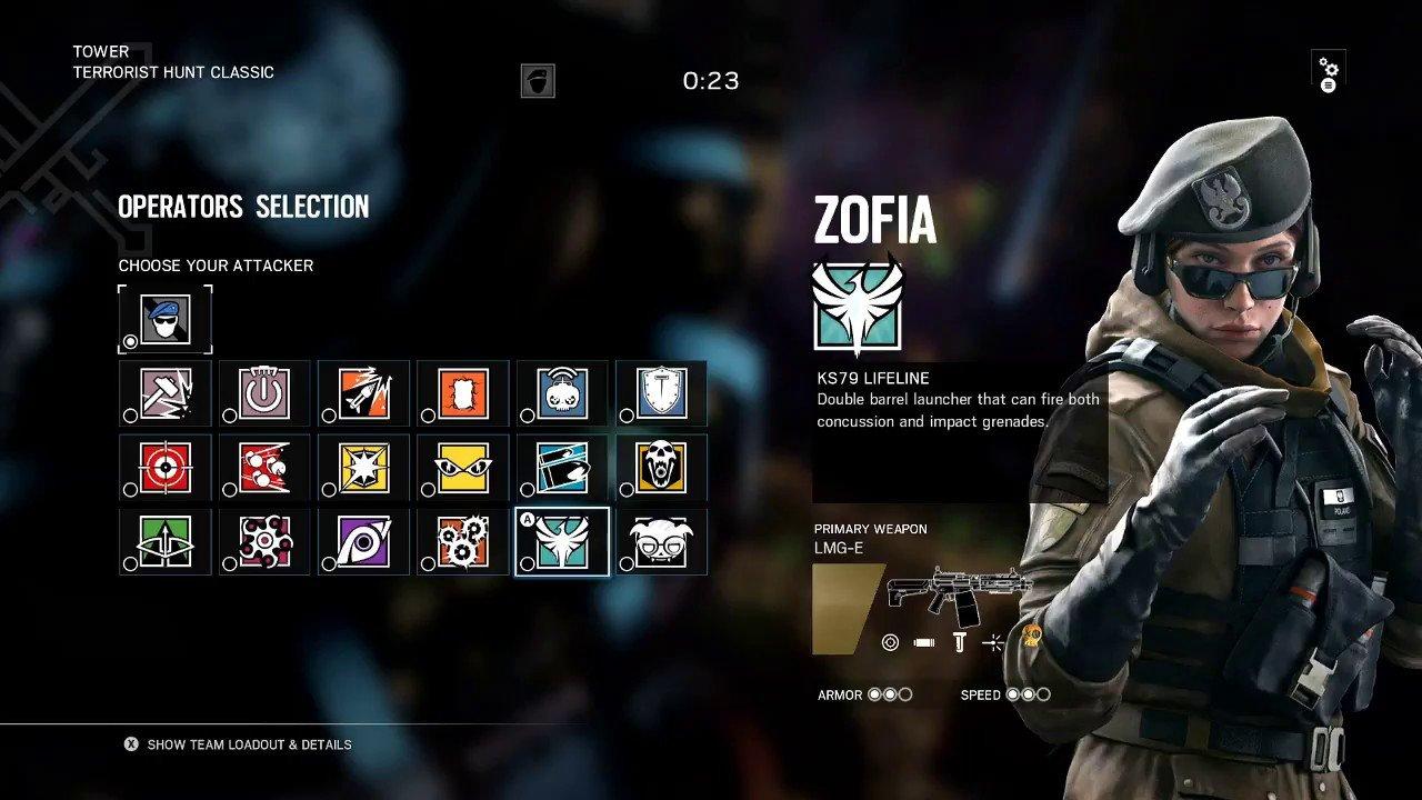Zofia Rainbow 6 Siege