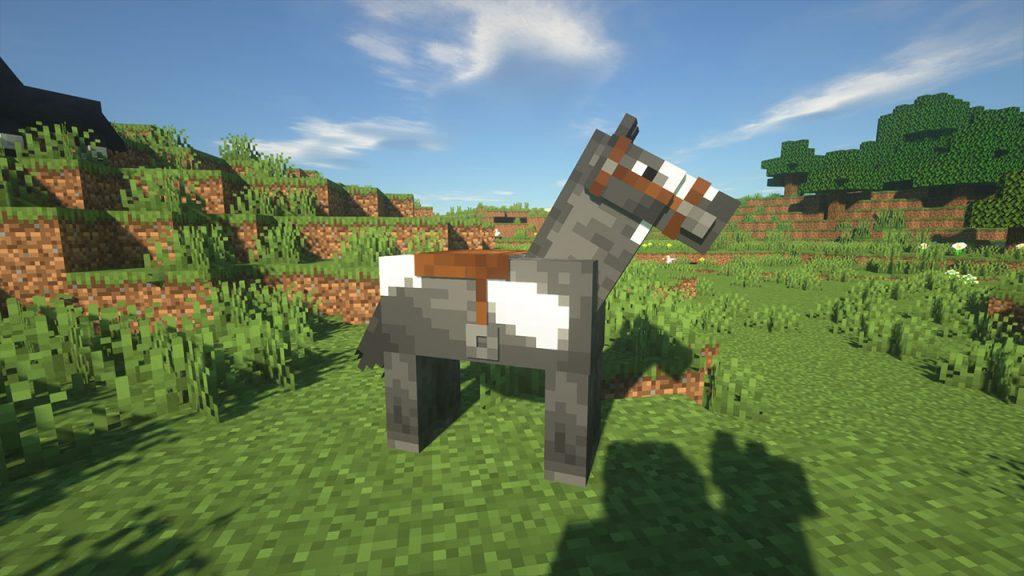 horse riding saddle minecraft