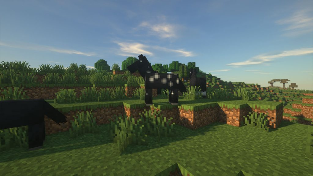 horses in minecraft
