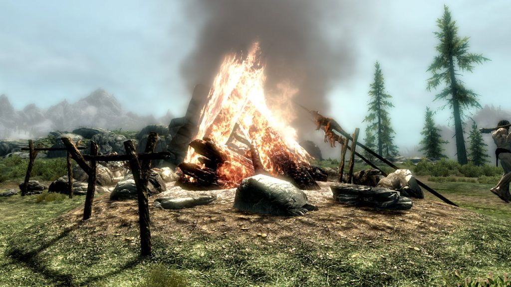 cinematic fire effects