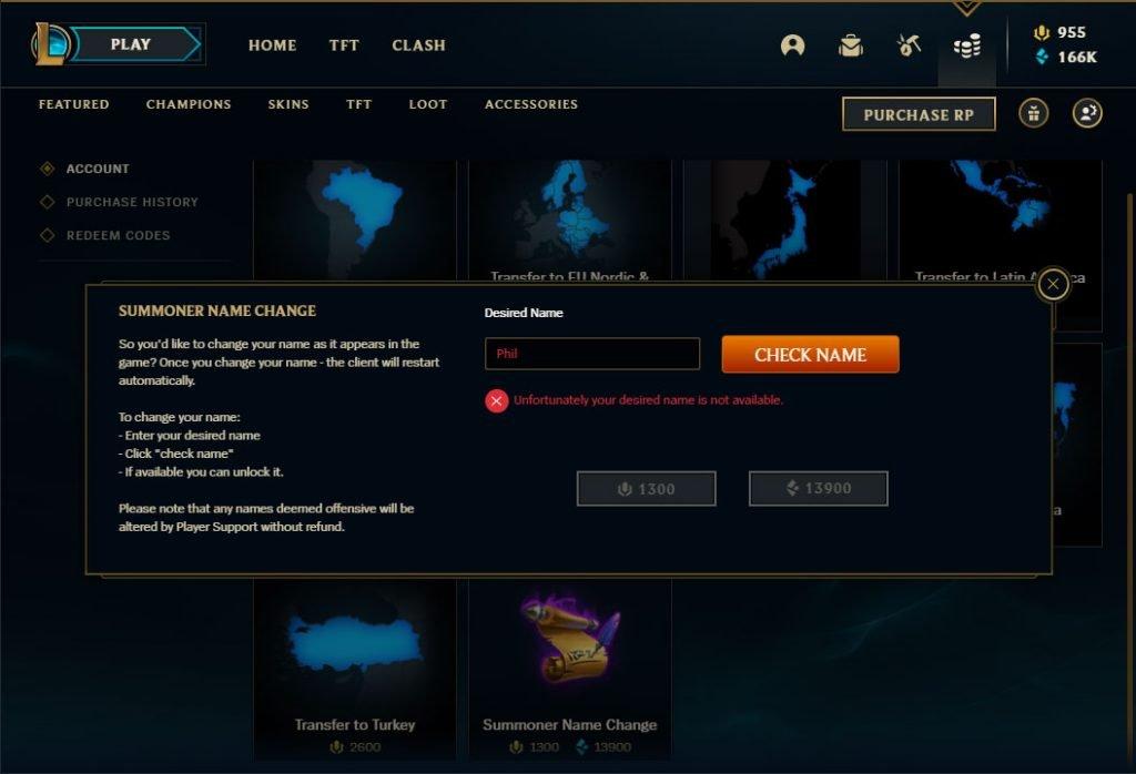 league of legends client
