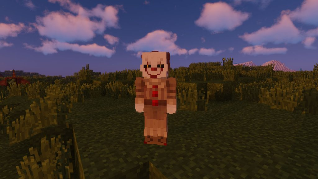 pennywise in minecraft